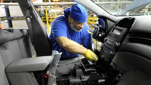 Fourth-quarter GDP revised up; corporate profits fall