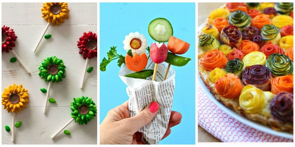 20 Ways to Make Your Food Look Like Flowers