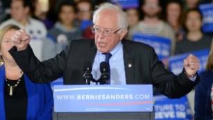 Bernie Sanders' big day
