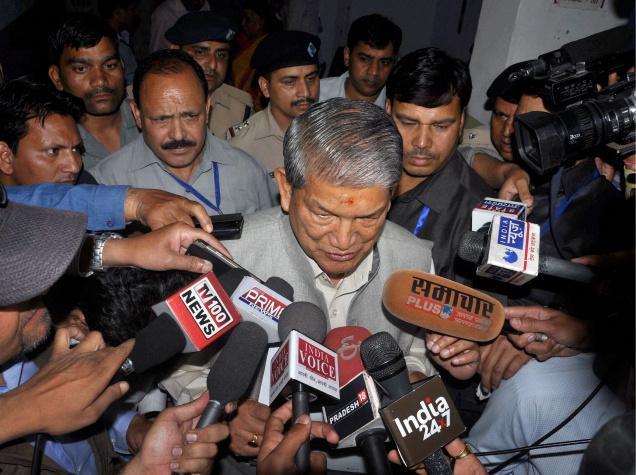 President's rule imposed in Uttarakhand