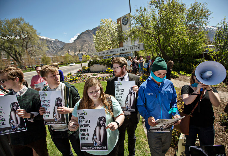 At Brigham young, a price in Reporting a Rape