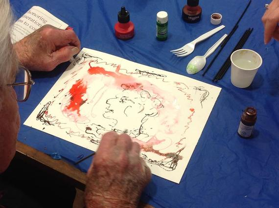 Bringing Art to Life: An Intergenerational Approach to Alzheimer's