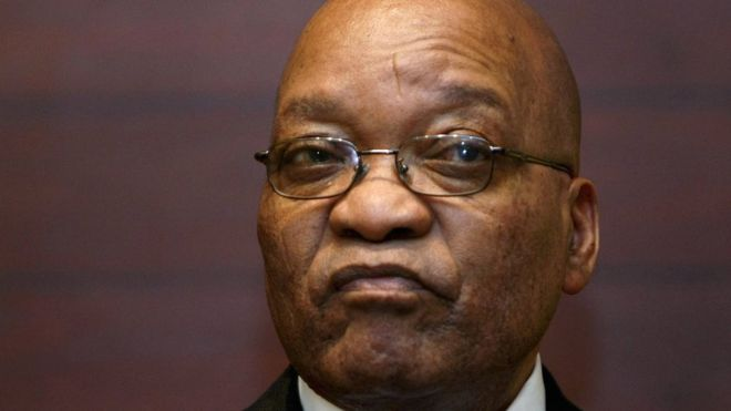 South Africa corruption case blow for Jacob Zuma