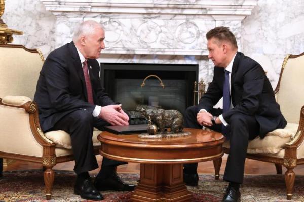 Gazprom focusing efforts on Eastern Europe