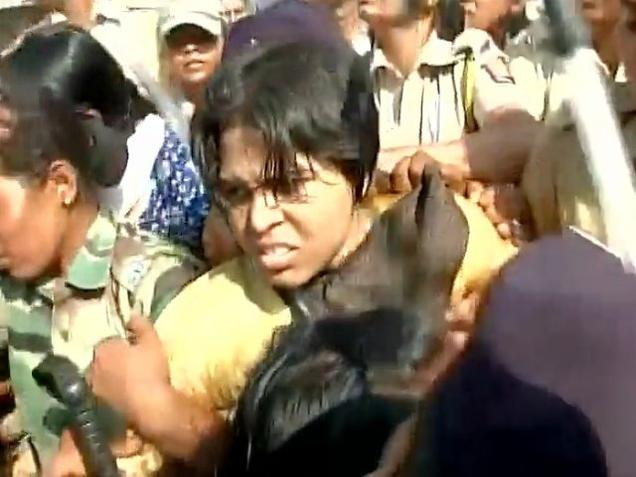 Live: Trupti Desai detained to avoid clash with villagers, say police