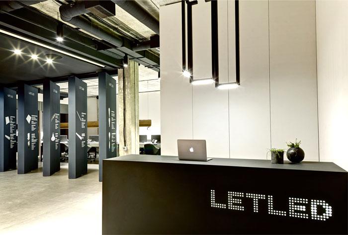 ZOOI Studio Create Office Interior for the LETLED Company in Kiev