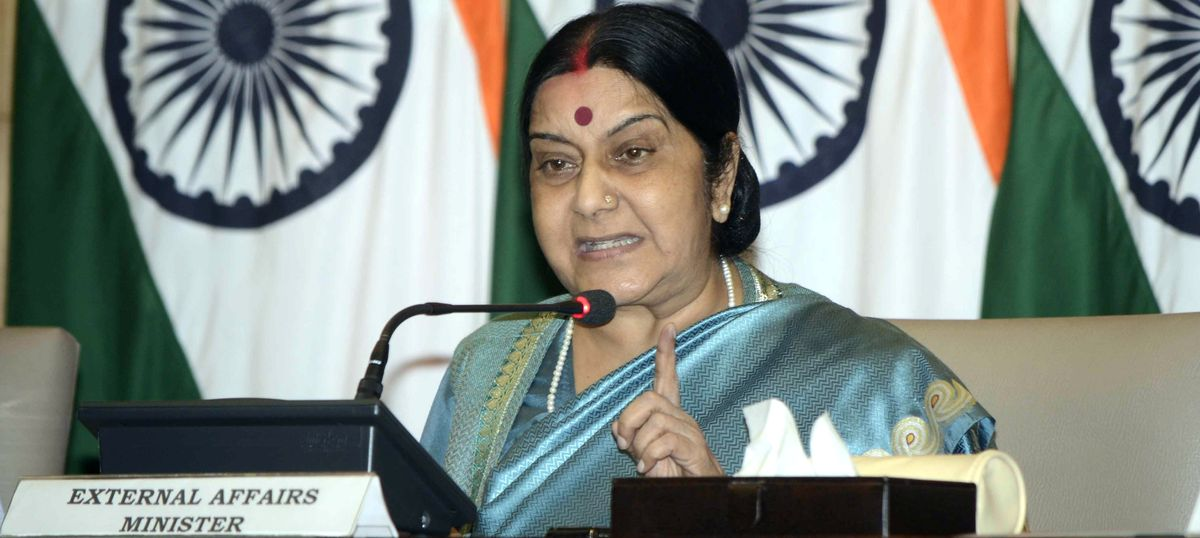Sushma Swaraj to lead Indian delegation at Mother Teresa's canonisation