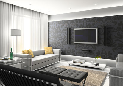 Decoration Tips For Spacious Living Room