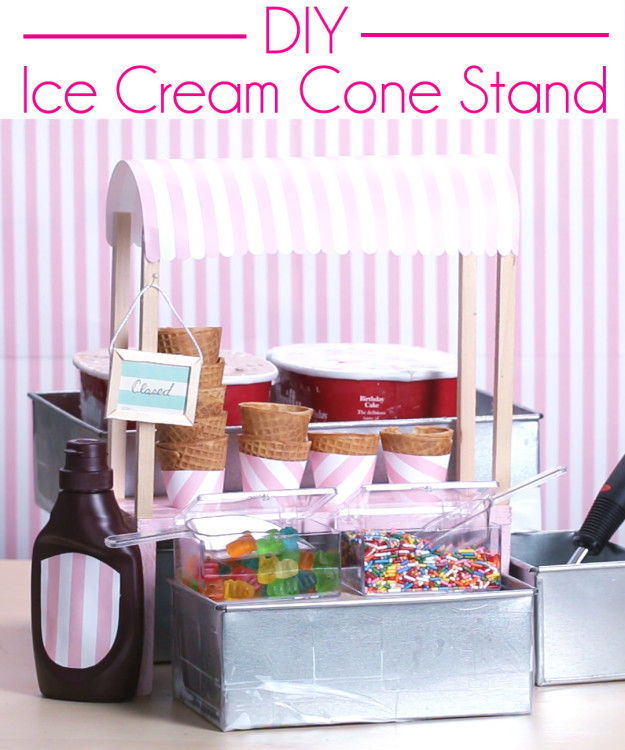 This DIY Ice Cream Stand Is The Cutest Thing Ever