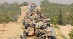 Turkey targets Kurdish forces south of Syria's Jarablus