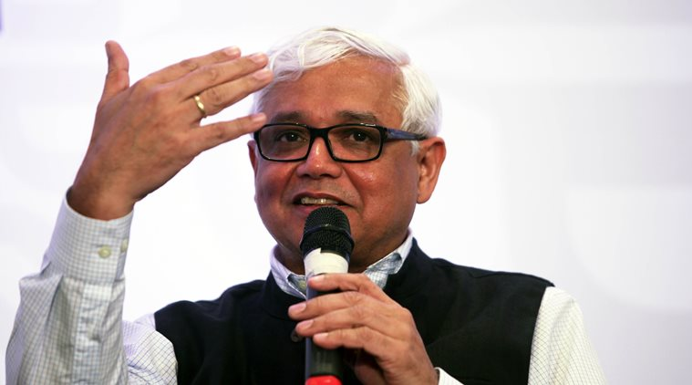 'Now politicians see themselves as CEOs. Why should we be surprised at a Trump,' asks Amitav Ghosh