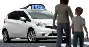 Driverless cars with something to say