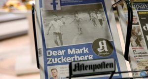 Norway Prime Minister joins 'napalm girl' protest against Facebook