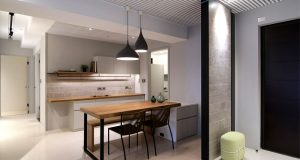 Urban Apartment in Taichung by Mole Design