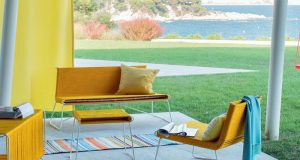 Sunny Yellow Outdoor Furniture Collection