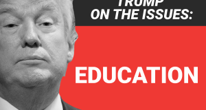Here's where Donald Trump stands on education