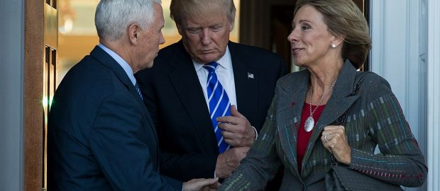 Does Trump's education pick want to 'advance God's Kingdom' using schools?