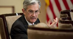 Fed's Powell Says Risks Are Mixed and Real Estate Is a Concern