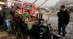 IS conflict: Iraq car bomb kills 11 in Baghdad
