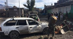 Pakistan vegetable market bomb kills 20 and injures 40