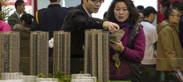 China's real estate sector slows