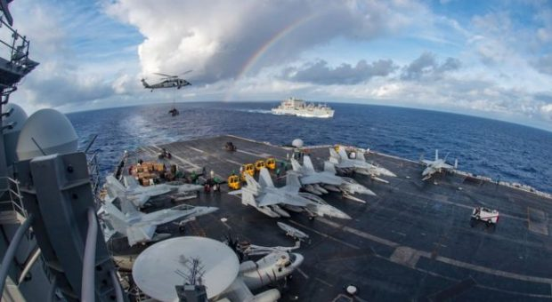 South China Sea: US carrier group begins 'routine' patrols