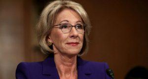 Obama Education secretary condemns protest against DeVos at DC school