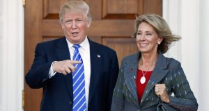 Pence 'very confident' education pick Betsy DeVos will be confirmed with his vote